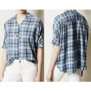 Anthropologie Holding Horses  Halsey Plaid Shirt